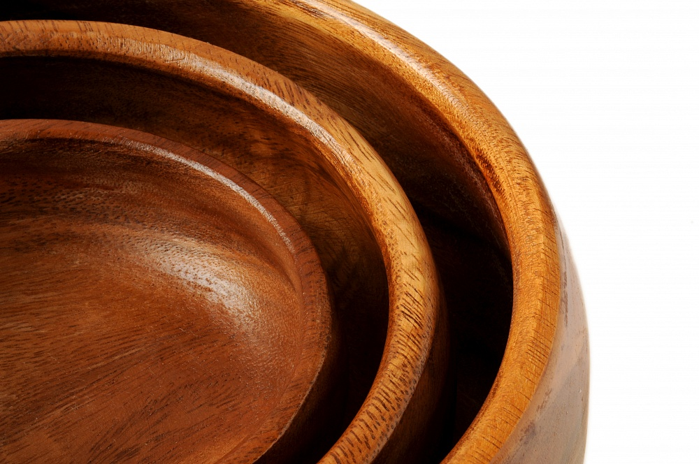 Салатница «Орех» большая D 25,5см  -1553678067