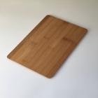 Доска бамбук разделочная прямоугольная 30*20*1 см