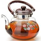 Заварочный чайник 1,5 л нерж+стекло MB (х12)